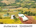 precision agriculture and... | Shutterstock . vector #524304499