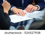 close up of hands holding... | Shutterstock . vector #524327938