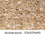 stone wall texture background... | Shutterstock . vector #524329690