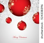 merry christmas and happy new... | Shutterstock .eps vector #524338396