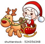 vector illustration of cartoon... | Shutterstock .eps vector #524356348