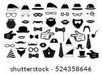 set the party  the person's... | Shutterstock .eps vector #524358646