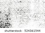 distressed overlay texture of... | Shutterstock .eps vector #524361544