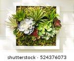 Decorated Wall Vertical Garden...