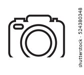 photo camera icon illustration... | Shutterstock .eps vector #524380348