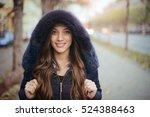 finally winter is coming  | Shutterstock . vector #524388463