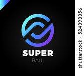 letter s or o logo. super... | Shutterstock .eps vector #524393356