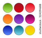 vector buttons design elements. ...   Shutterstock .eps vector #524394688