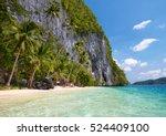Beautiful Island. Blue Bay And...