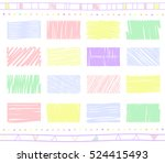 vector collection of retro... | Shutterstock .eps vector #524415493