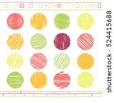 vector collection of retro... | Shutterstock .eps vector #524415688
