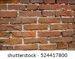 old red brick texture. | Shutterstock . vector #524417800