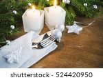 table place setting for... | Shutterstock . vector #524420950