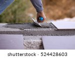 building fitting the floor | Shutterstock . vector #524428603