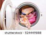 laundry | Shutterstock . vector #524449888