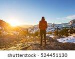 in a hike | Shutterstock . vector #524451130