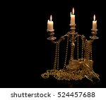 Vintage Candlestick With...