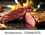 Rare Steak Black Rectangular...