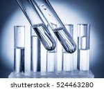 Different Laboratory Beakers...