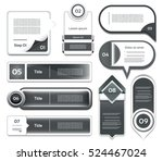 modern infographics options...   Shutterstock .eps vector #524467024