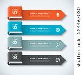arrow design elements for... | Shutterstock .eps vector #524467030