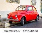 pisa  italy   october 2  retro... | Shutterstock . vector #524468623
