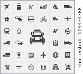 truck icon. delivery icons... | Shutterstock .eps vector #524474788