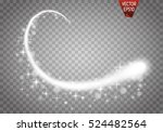set of magic glowing spark... | Shutterstock .eps vector #524482564
