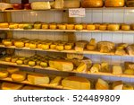 Cheese At A Market In Amsterdam ...