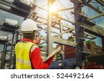 foreman control loading... | Shutterstock . vector #524492164