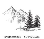 hand drawn vector illustration... | Shutterstock .eps vector #524492638