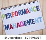 word spelling performance... | Shutterstock . vector #524496094