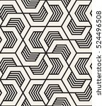 vector seamless pattern with... | Shutterstock .eps vector #524496508