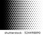 gradient background with dots... | Shutterstock .eps vector #524498890