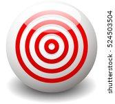 red target  bullseye  accuracy  ... | Shutterstock .eps vector #524503504