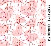 layered seamless vector pattern ...   Shutterstock .eps vector #524510518