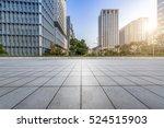 empty floor with modern... | Shutterstock . vector #524515903