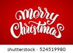 vector illustration  merry... | Shutterstock .eps vector #524519980