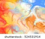 Amazing Shapes On Colorful...