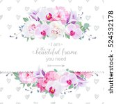 Wedding Floral Vector Design...