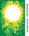abstract background. vector... | Shutterstock .eps vector #524535448