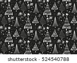 vector seamless pattern with... | Shutterstock .eps vector #524540788
