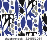 ornamental seamless pattern... | Shutterstock .eps vector #524551084