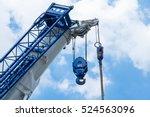 high crane   Shutterstock . vector #524563096