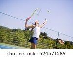 Beautiful Female Tennis Player...