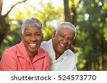 happy mature couple. | Shutterstock . vector #524573770