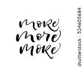 set of more worlds. ink... | Shutterstock .eps vector #524605684