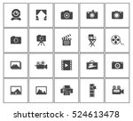photography icons | Shutterstock .eps vector #524613478