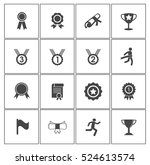 winner icons | Shutterstock .eps vector #524613574