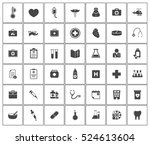 medical icons | Shutterstock .eps vector #524613604